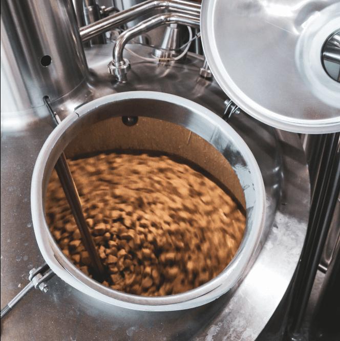 Ibrida birra Large scale production